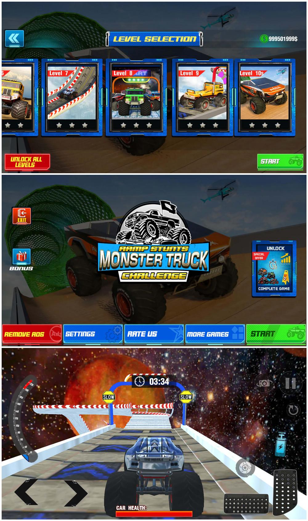 特技游戏 怪物卡车绿化版