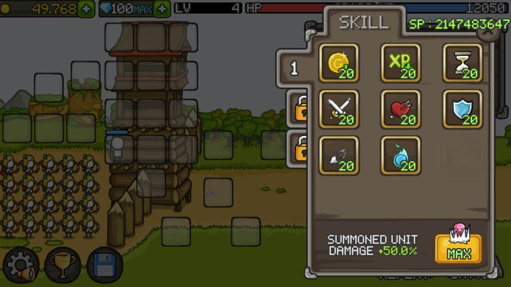 防御游戏 成长城堡绿化版百度网盘蓝奏网盘
