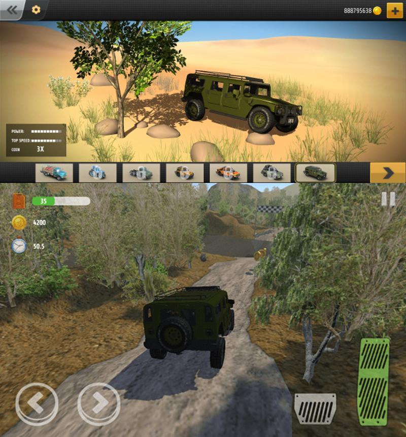 驾驶模拟类游戏 疯狂越野
