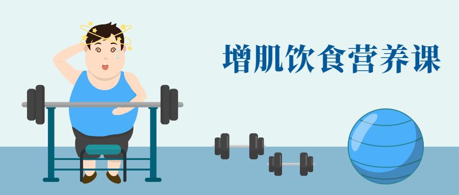 健身增肌饮食营养课