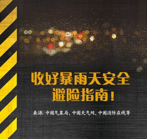 河南暴雨安全避险最全指南-云奇网