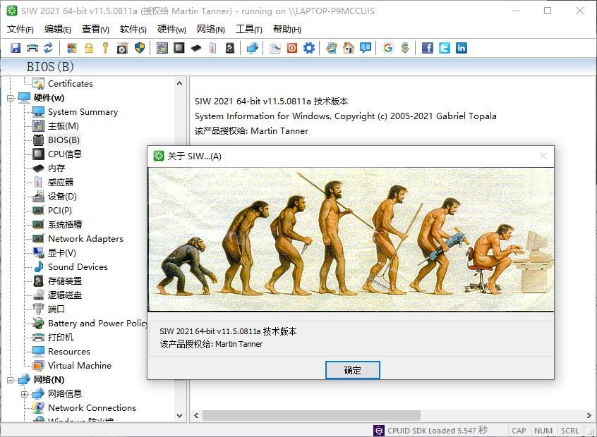 SIW 2021 v11.5.0811绿色单文件版-第2张图片-老九资源网_免费资源搜集分享平台