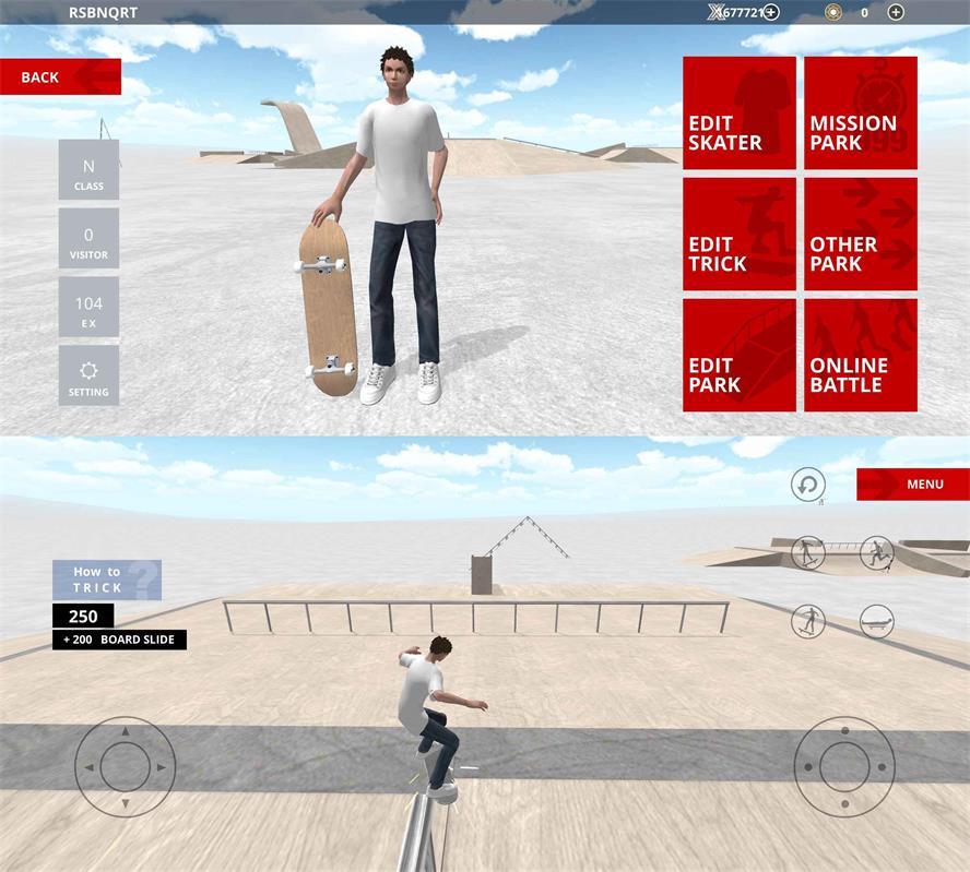 生动的滑板模拟器 滑板空间-第1张图片-乌龟资源网_宅男福利_资源共享_学习网
