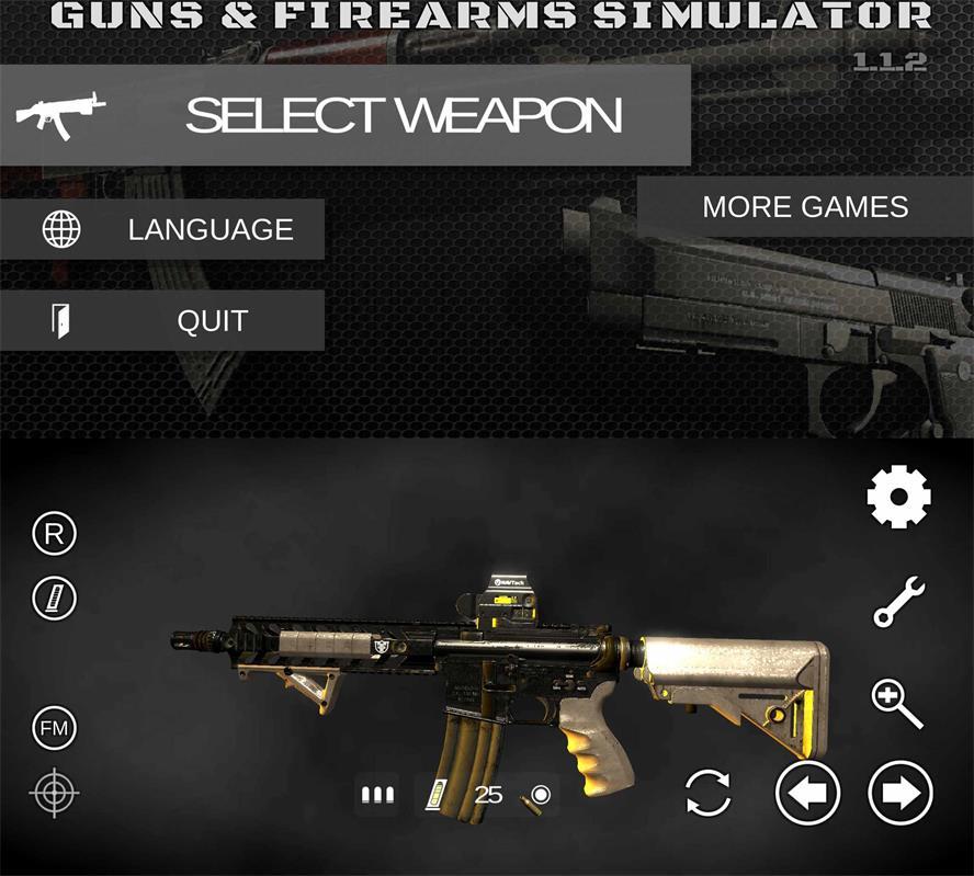 枪支模拟游戏 真实武器模拟器3D百度网盘蓝奏网盘